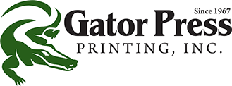 Gator Press Printing, Inc. Logo